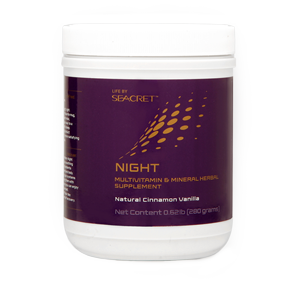 Life By Seacret NIGHT (28 Servings) – Cinnamon Vanilla